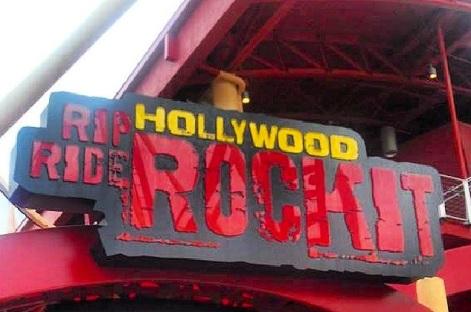Achterbahn in den Universal Studios Orlando