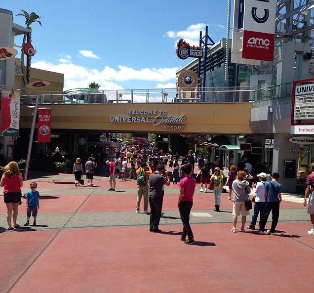 Dem Winter entflohen – die Universal Studios in Orlando