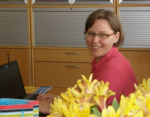 Alexandra Özpaker, Lehrbuchkoordinatorin GLC Foto: Christina Bergmann