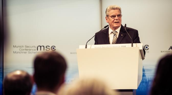 Münchner Sicherheitskonferenz: Gaucks Rede, Ukraine, Iran