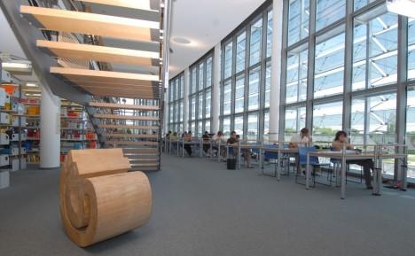 Bibliothek der Technischen Universität München Foto: TUM/Thorsten Naeser