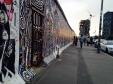 Die East Side Gallery an der Mühlenstraße im Zentrum von Berlin Foto: Nina Gutzeit