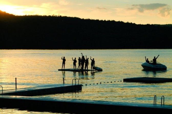 Ein Sommer im Camp in Maine