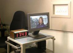 So sieht die Korrespondentin sich selbst und weiß, wie spät es in Deutschland ist Foto: Christina Bergmann