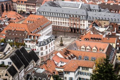 Ein Blick auf Heidelberg und die Universität Foto: View Apart/shutterstock.com