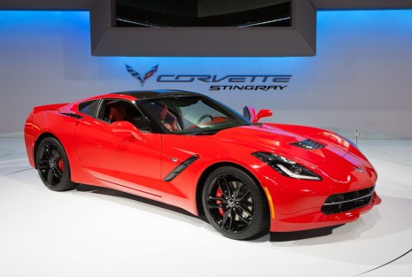 Der Chevy Corvette Stingray auf der Autoshow in Chicago im Februar 2013 in Chicago, Illinois. Foto: alexkatkov/shutterstock.com