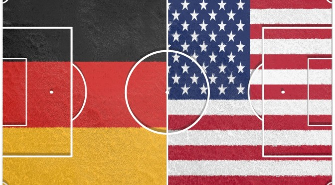Fußball: Germany versus USA