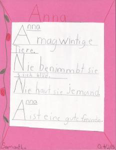 ANNA von Samantha