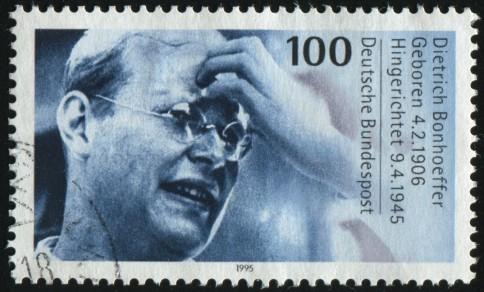 Dietrich Bonhoeffer, Sondermarke der Deutschen Bundespost Foto: rook76 / Shutterstock.com