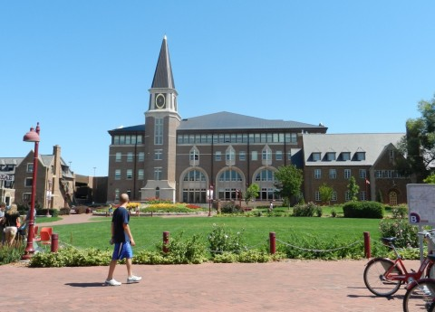 University of Denver, Colorado, Campus Foto: Bergmann