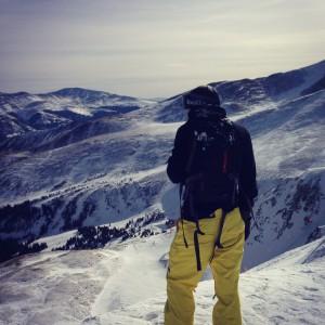 Dem leidenschaftlichen Snowboarder gefallen vor allem die Berge unweit von Denver Foto: Martin Bergmann