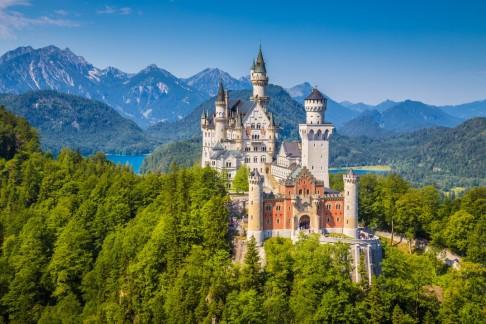 Deutschland: romantisch und mit Schlössern, wie hier Neuschwanstein Foto: canadastock / shutterstock.com