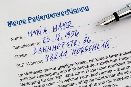 Patientenverfügung, Foto: Lisa S./shutterstock.com