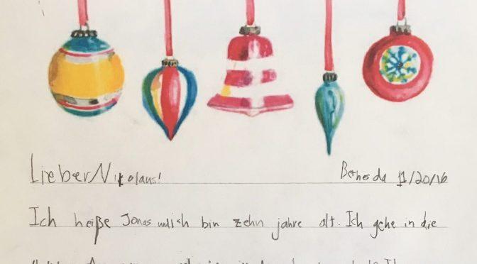 Briefe an den Nikolaus