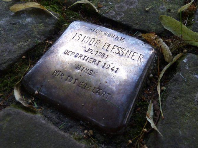 Stolpersteine erinnern an die Opfer der NS-Zeit