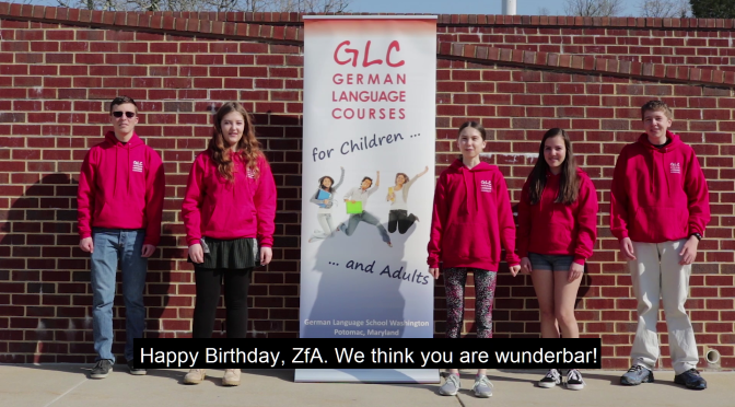 Happy Birthday, ZfA