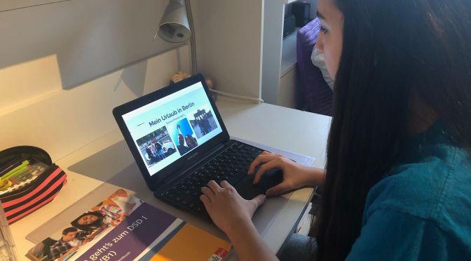 In Zeiten von Corona ist auch der GLC-Unterricht virtuell